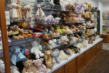 lovable stuffed animals and more at Mary yoders amish kitchen