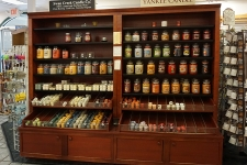swan creek and yankee candles at mary yoders amish kitchen