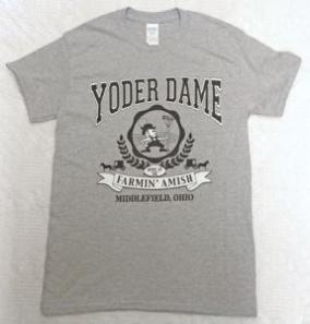 yoder dame t shirt xxl