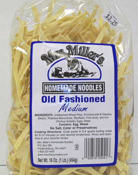amish noodle - angel hair