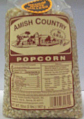 amish popcorn two pound - medium yellow