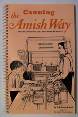 canning the amish way cookbook