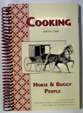 cooking with the horse and buggy people cookbook