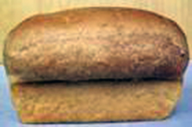 white bread unsliced