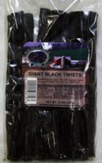 giant black licorice twists