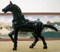 horse - metal