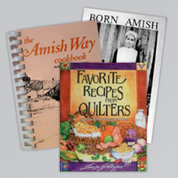 books at mary yoders amish kitchen