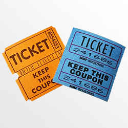 event tickets from Mary coders amish kitchen